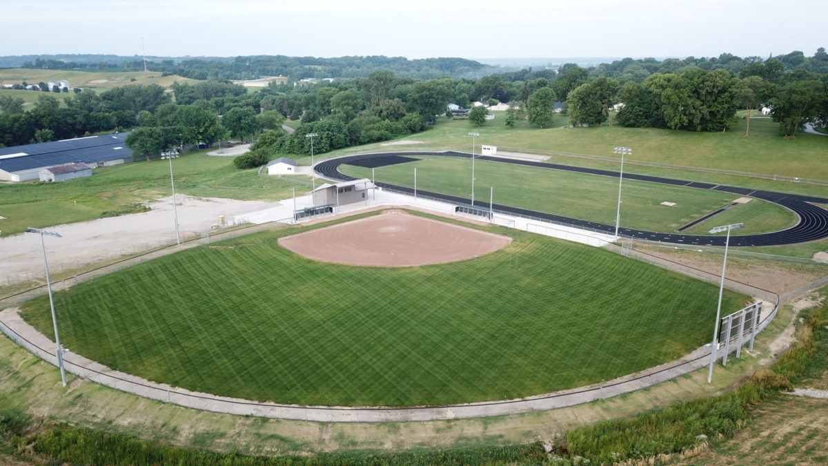 John Donaldson Field Aerial Image - By MIke Heying
