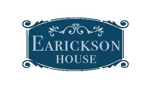 Custom Earickson Hosue Logo Blue