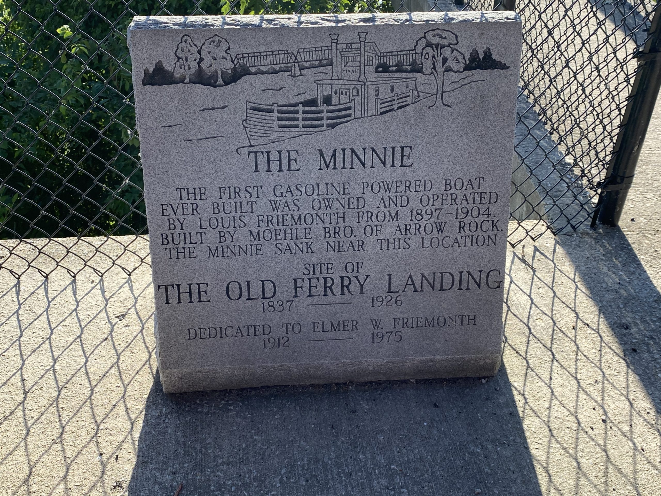 The Minnie First Gas-Powered Boat Marker