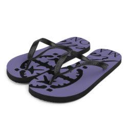 Karbelle Mansion Purple Flipflops