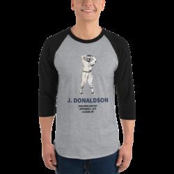 John Donaldson three-quarter sleeve shirt