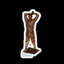 John Donaldson Statue Sticker