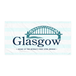 Glasgow MO Beach Towel - Light