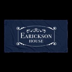 Glasgow MO Earickson House Beach Towel